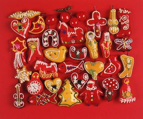 The tradition of gingerbread making appeared in certain European monasteries during the Middle Ages and came to Croatia where it became a craft. Gingerbread craftspeople, who also made honey and candles, worked in the area of Northern Croatia.