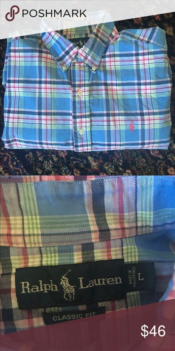 Polo Ralp Lauren classic fit shirt Like new, worn twice, excellent condition Polo by Ralph Lauren Shirts Dress Shirts