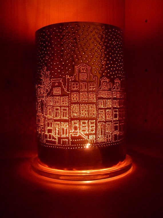 Copper Anniversary gift Amsterdam town by coppercreationsbyme, £50.00