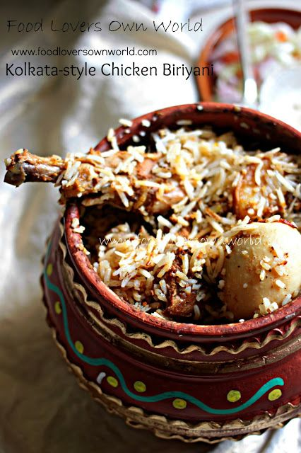 Kolkata's Chicken Biriyani