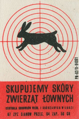 polish matchbox label by maraid, via Flickr