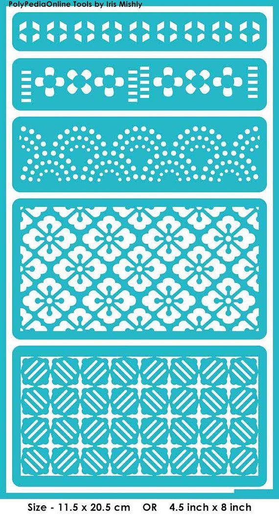 Tarjeta de plantilla plantillas plantillas por irismishly en Etsy