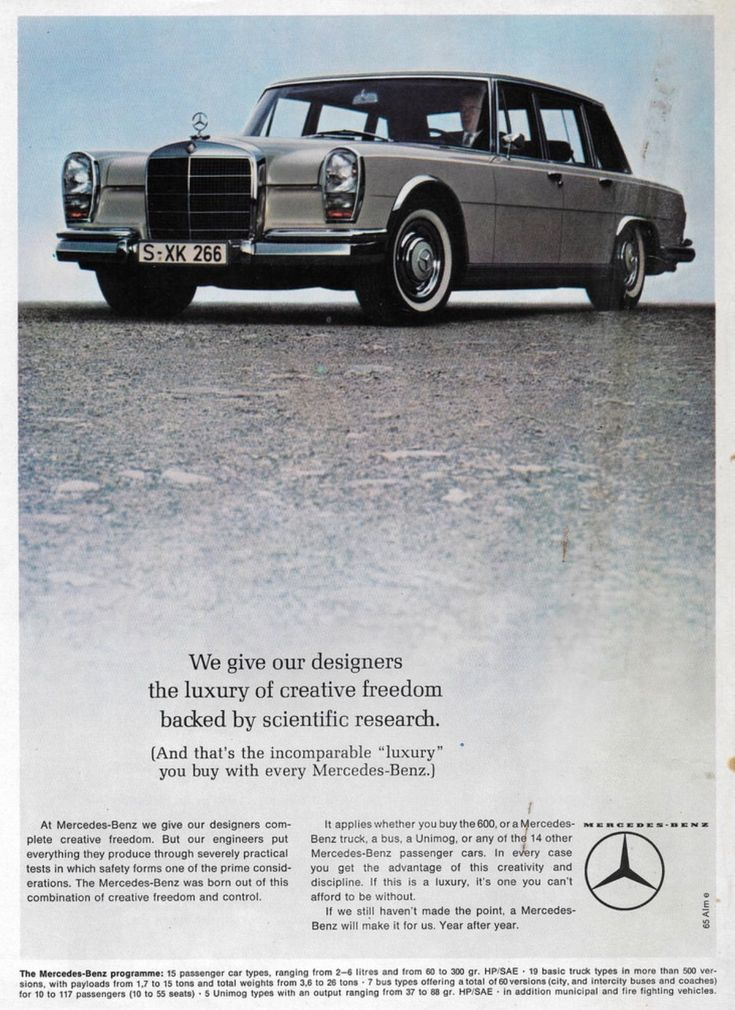 28 best Mercedes images on Pinterest | Car advertising, Classic ...
