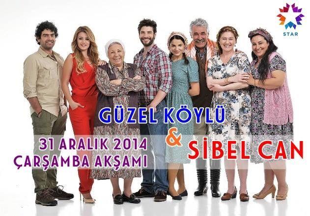 Sibel Can 31 Aralık 2014 Yılbaşı akşamı star tv de yayınlanan Güzel Köylü dizisine konuk oyuncu olarak katılacaktır