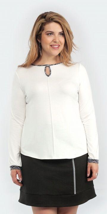 Frëtt Design - Blouse Aqam (plusieurs couleurs offertes) disponible en taille 1+ - prix régulier 89,00$