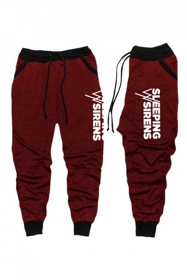 Sleeping With Sirens | Merch Store - Logo Joggers