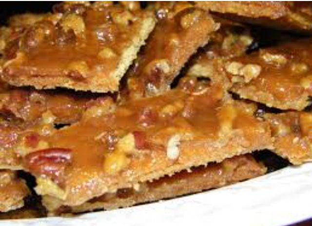 Gram cracker toffee