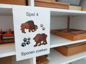 Spel 4, sporen zoeken, indianenspel voor kleuters, kleuteridee.nl