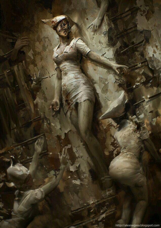 26 best Silent Hill images on Pinterest  Silent hill Videogames