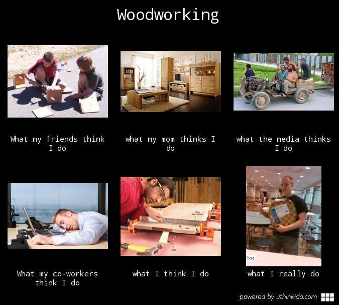 Hey, i am a woodworker! | Funny Woodworking | Funny memes ...