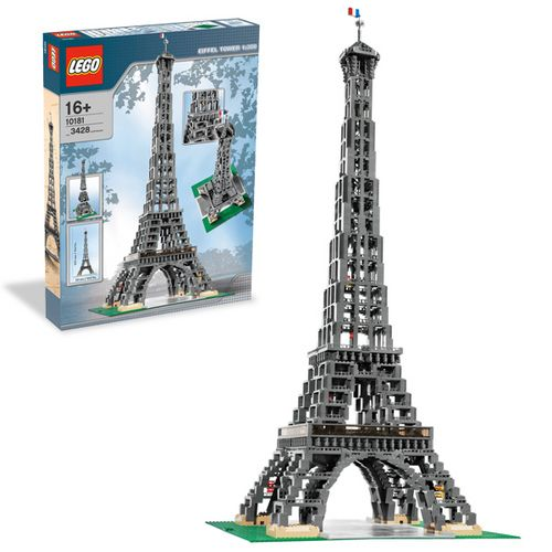 LEGO: Make and Create Eiffel Tower
