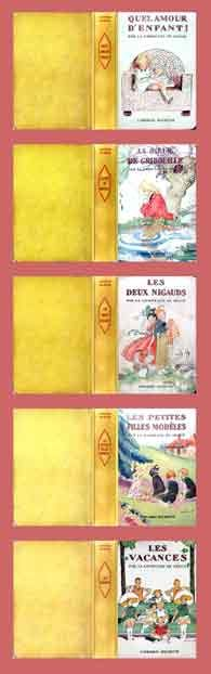 Miniature Printables - Book Covers.