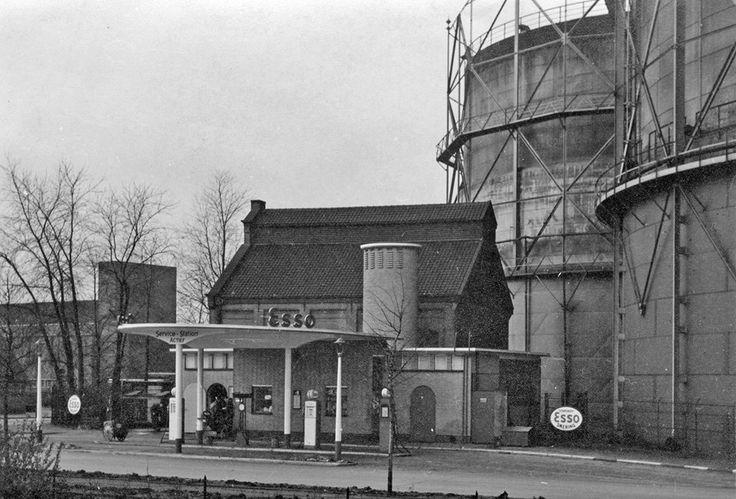 Gasfabriek aan de Kleine Drift, Hilversum