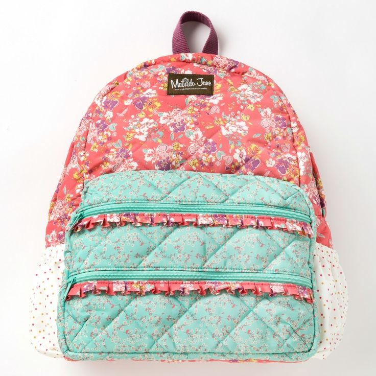 Enter to win a Matilda Jane Backpack for girls (ARV $65).  The giveaway is open to US residents only and ends August 1, 2015.