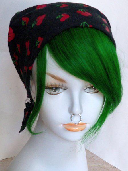 Clip in Human Hair Bang Fringe Hair Extension Unnatural Colors | Damnation Hair
