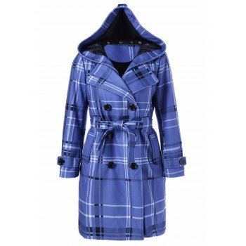 GET $50 NOW | Join Dresslily: Get YOUR $50 NOW!https://m.dresslily.com/tie-belt-hooded-plaid-woolen-coat-product1863366.html?seid=GEpb8dhQf2QbbMlln96dC9I3G0