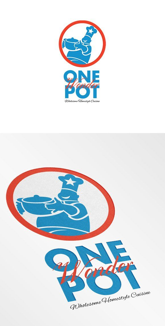 One Pot Wonder Homestyle Wholesome C by patrimonio on @creativemarket