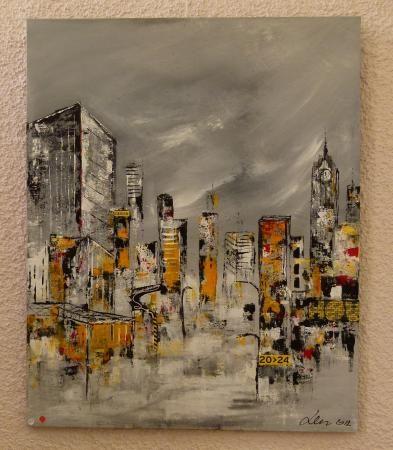 la ville en peinture | Expo mixte peinture sculpture : Villeneuve-de-la-Raho                                                                                                                                                                                 Plus