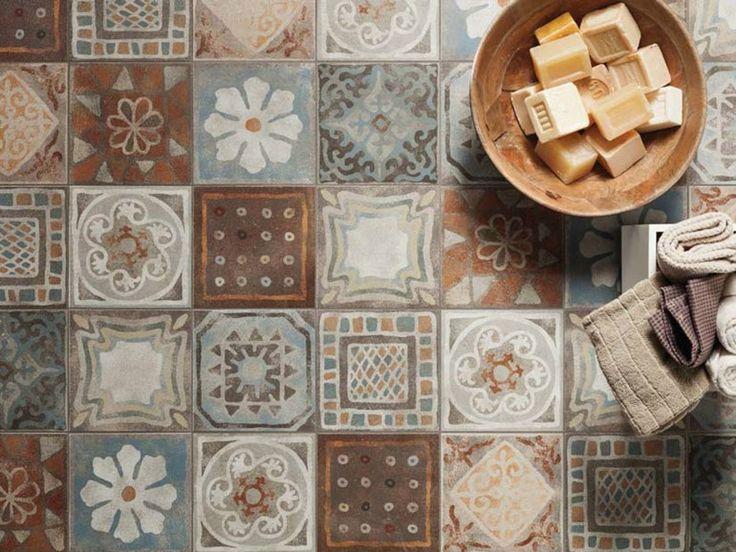 Pavimento ecologico in gres porcellanato MEMORY MOOD by Panaria Ceramica design Silvia Stanzani