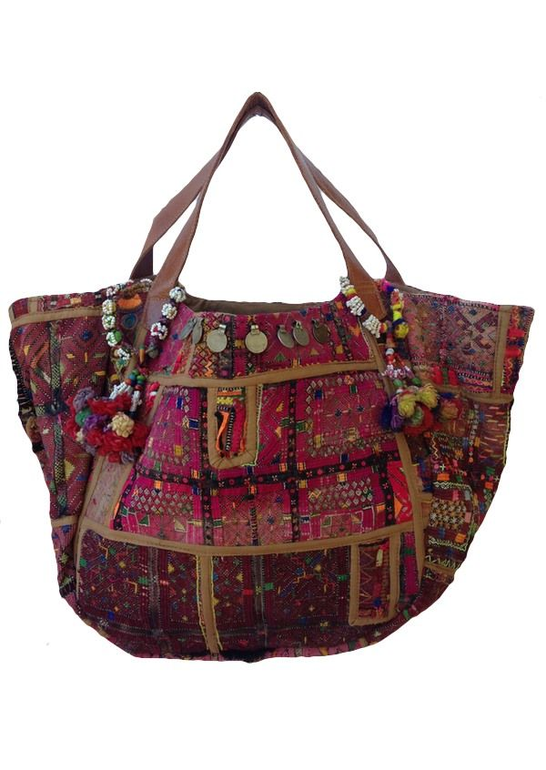 Karma East - Vintage Banjara Gypsy Bag 2