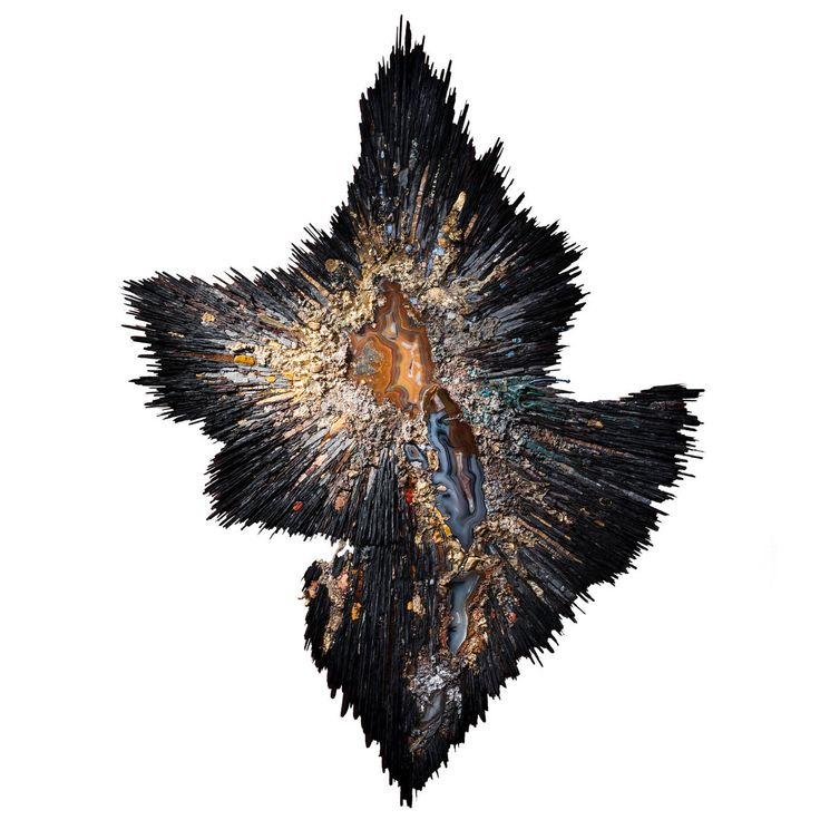 """Beatrice Serre 2015 """"Big Bang"""" Wall Sculpture 