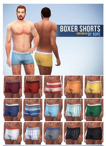 4 Sims Underwear Match Maxis