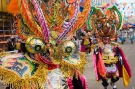 Carnaval in Oruro, Bolivia. Join the party in 2014. It begins on the 1st of March.