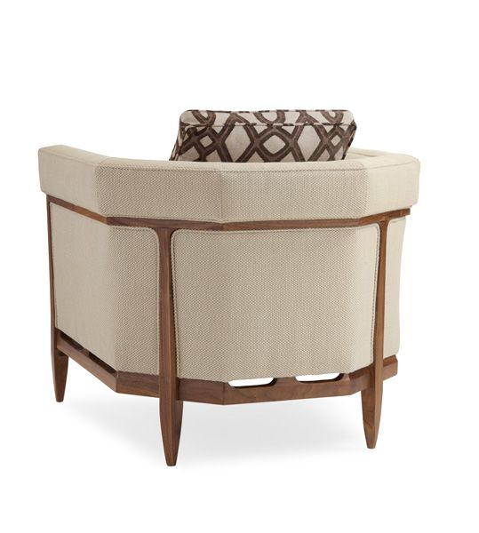 Bigelow Chair : Modern Craftsman : Chairs : crf-chair-02A | Caracole Light Furniture