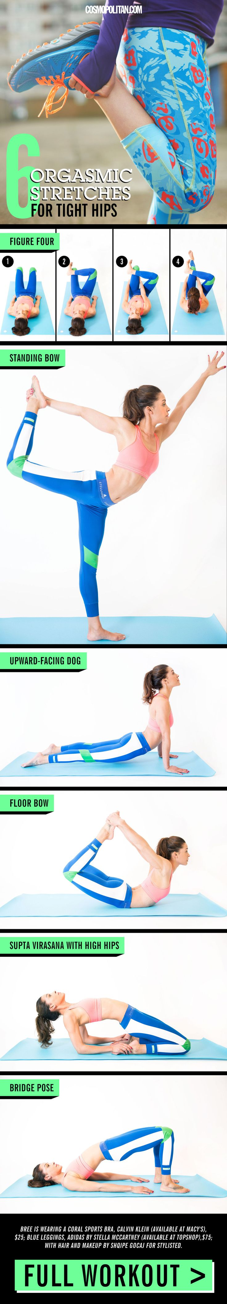 17 WAYS YOU'RE STRETCHING WRONG: Everyone has a different opinion about when and how to stretch — to clear things up, avoid these common stretching mistakes, deemed so by two researchers who recently reviewed about 20 years worth of stretching research and published the results in the academic journal Applied Physiology, Nutrition, and Metabolism. Click through for easy stretching ideas including these helpful hip stretches and more. These stretching tips and ideas are perfect for all sorts…