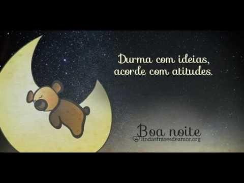 Mensagens de Boa Noite com Imagem de Ursinho e Lua