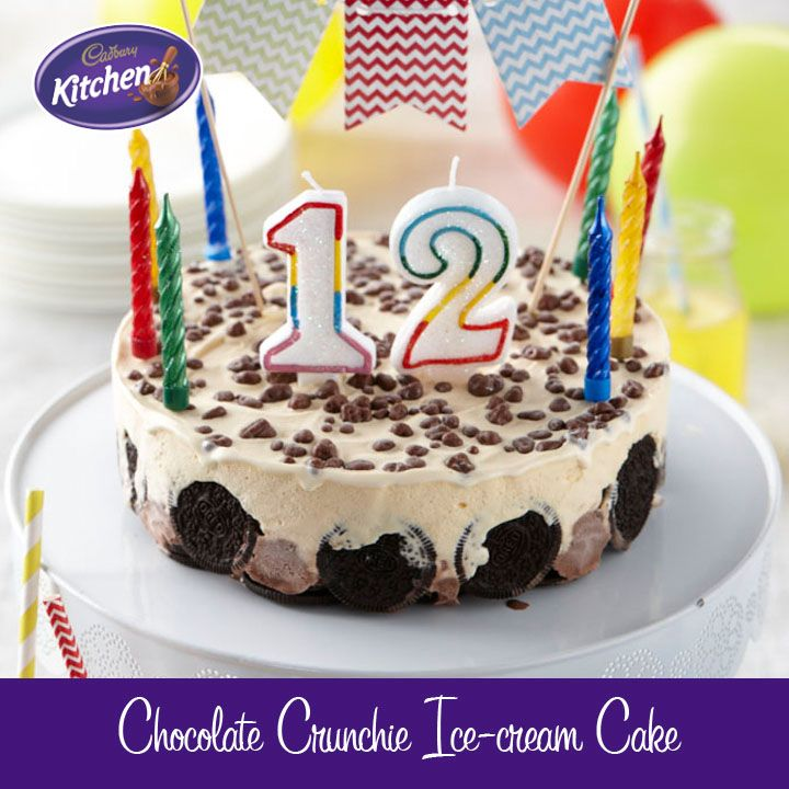 Please the guests as well as the #birthday person with this easy and delicious #celebration #cake decorated with #Cadbury Crunchie #Sprinkles. For more of our CADBURY Sprinkles Recipes visit https://www.cadburykitchen.com.au/search/results/12b1a4e5934620f702e375aba4f19149/