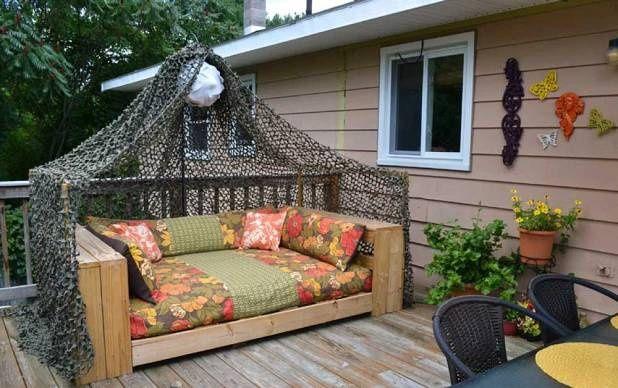 nábytek z palet postel