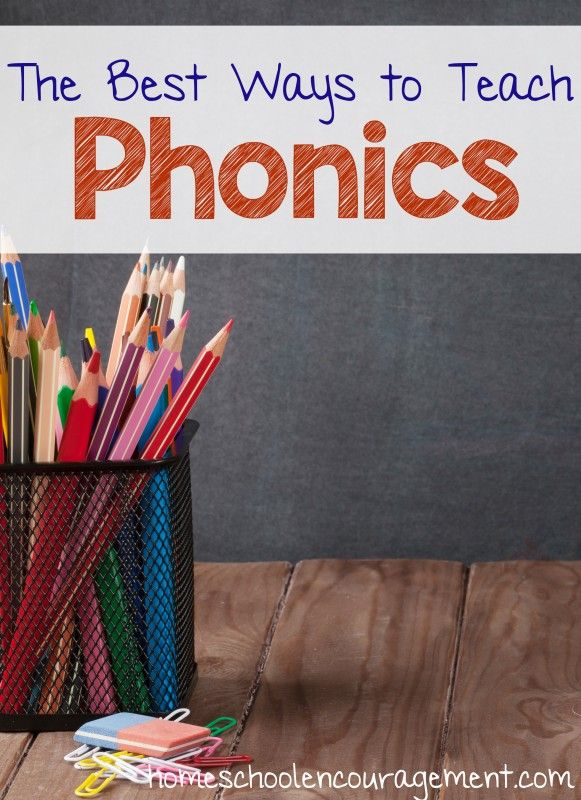 Best Ways to Teach Phonics