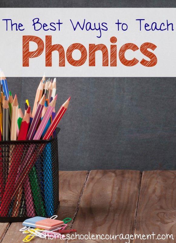 Best Ways to Teach Phonics