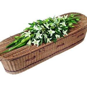 funeral spray | larger form of funeral tribute the double ended coffin top spray is ...