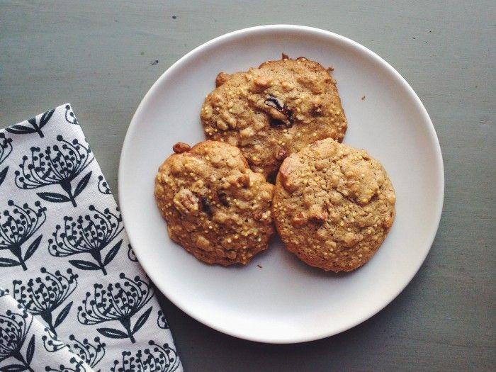 Nutty Millet Breakfast Cookies | Delightful Crumb