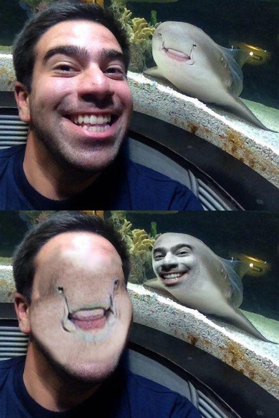 Face swap.