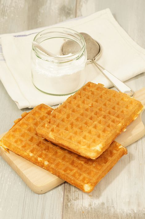 Gofry brukselskie made in #thermomix #waffles