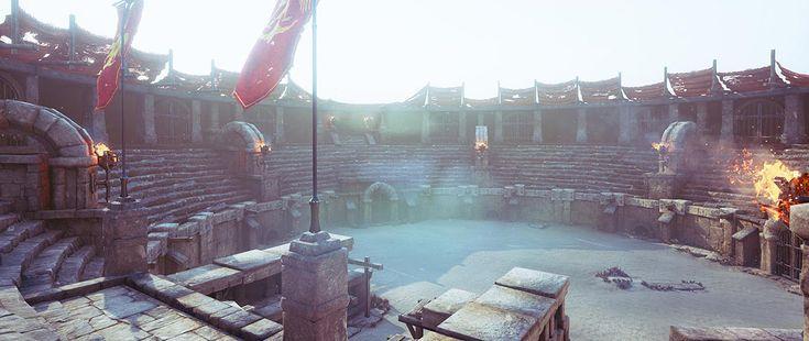 Gladiator's Arena - Making of – part 1 By Nikola Damjanov