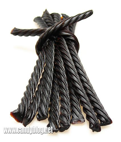 black licorice | If you have a craving for black licorice , as with all sweets, limit ...