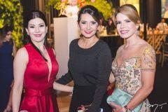 Lia Linhares, Márcia Travessoni e Maira Silva