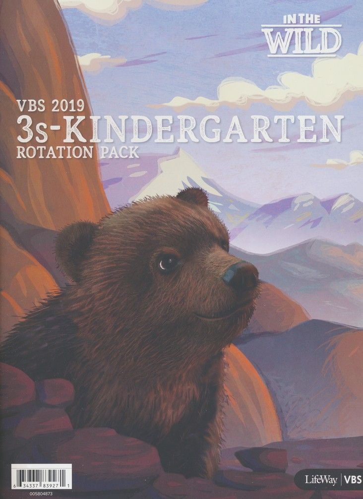 In The Wild: 3s - Kindergarten Rotation Pack | VBS Theme