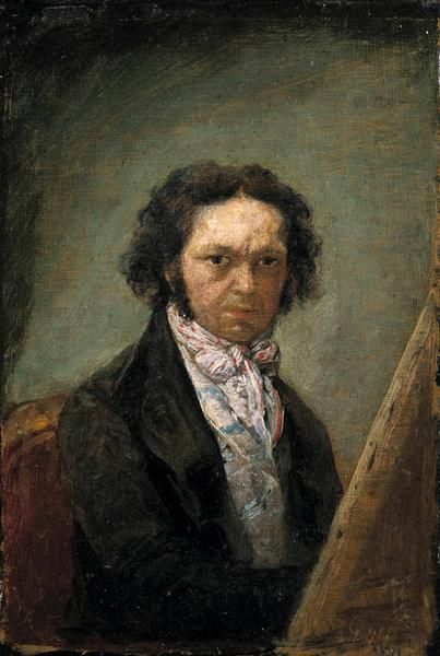 Self portrait - Goya Francisco
