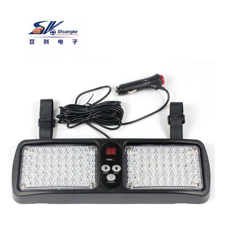 86 LED Super Bright Car/Truck Emergency Dash Visor Strobe