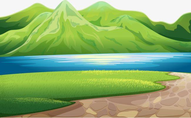 Green Mountain Lake Meadow Green Blue Png Image Jungle Scene Mountain Lake Green Mountain