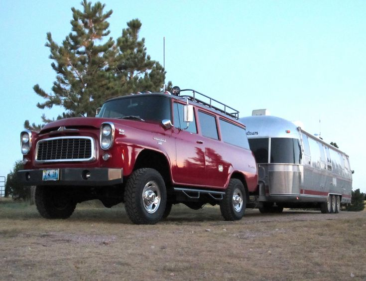 International Harvester Trailers : Best images about cars trucks with trailers on pinterest