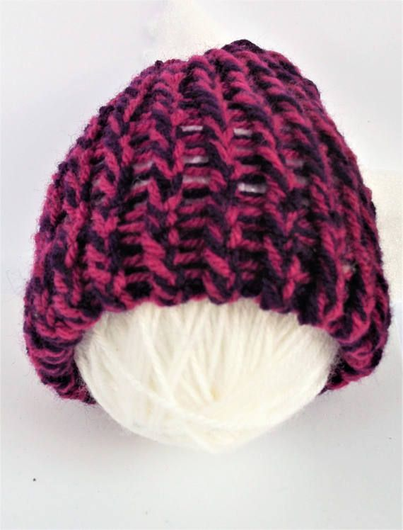 Check out this item in my Etsy shop https://www.etsy.com/uk/listing/529794061/summer-sale-purple-baby-beanie-knit