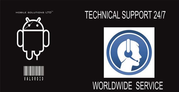 Technical Support Service, 24/7, Worldwide, Internet Connection Required, Fast Solutions, Contact us before buying