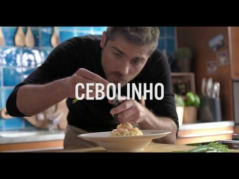 Esparguete Cremoso com Miolo de Camarão by Lourenço Ortigão - Pescanova