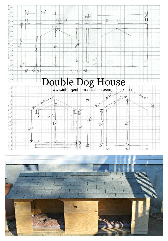 14 Best Dog Houses Images On Pinterest Woodworking Doggies And